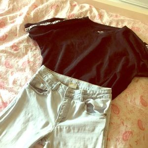 Light blue jeans(zara)